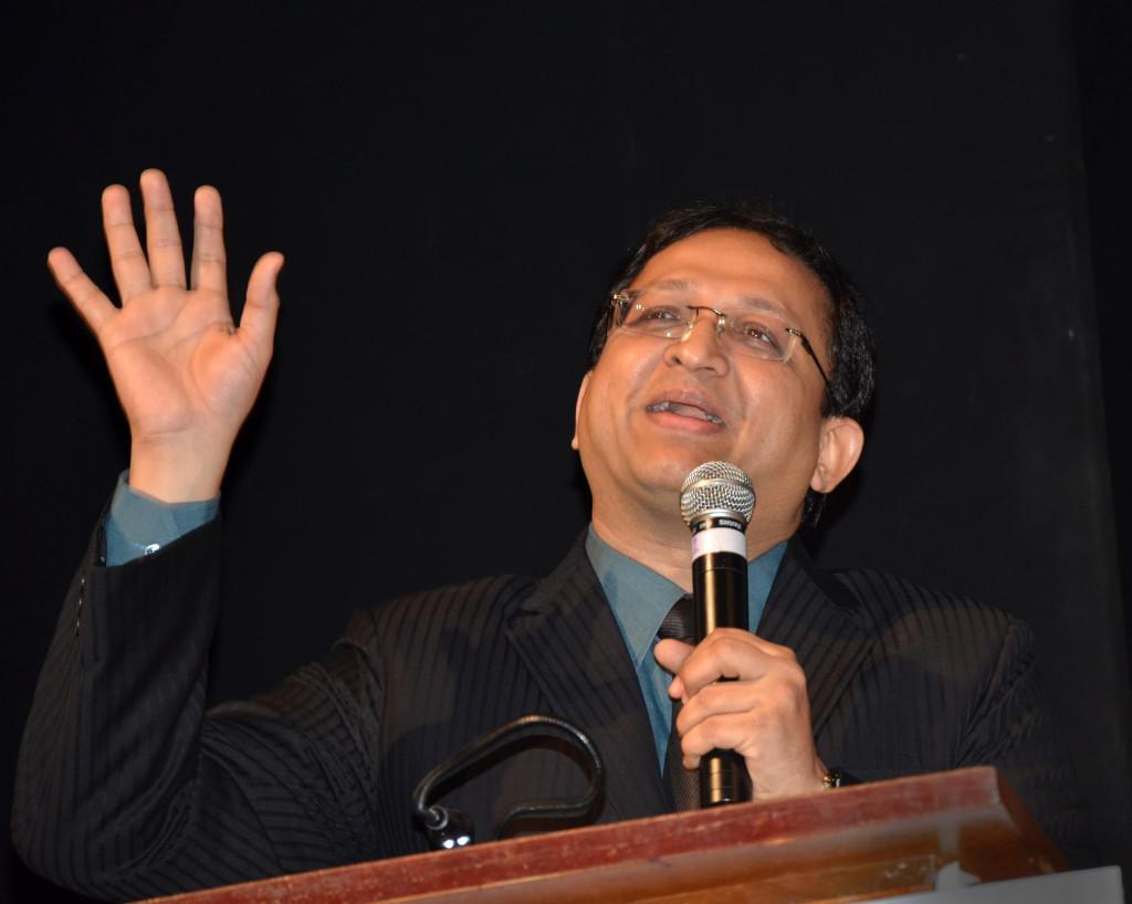 dr tushar shah at QED